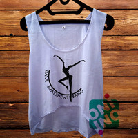 DMB Dave Matthews Band Fire Dancer Logo crop tank Women's Cropped Tank Top