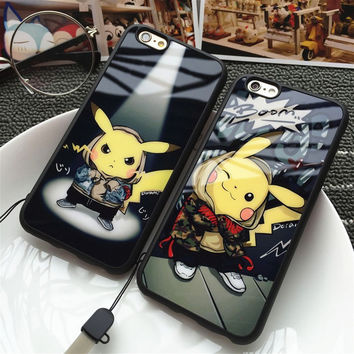 Apple Cartoons Phone Case Lovely Soft Silicone Phone Case [8226356673]