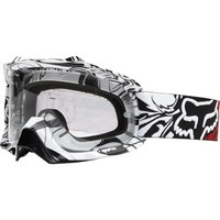 Fox Goggles - AIRSPC Encore White - SurfandDirt.com your choice for Crocs shoes and the hottest surf and motocross brands around.