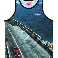 SUPREME GRAND PRIX TANK TOP - A Very Based You