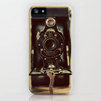 Vintage Kodak iPhone Case by laughlovephoto