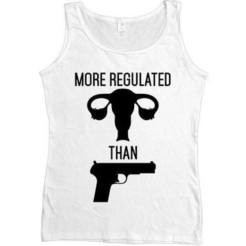 More Regulated Than Guns -- Women's Tanktop