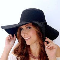 Take Me There Hat in Black