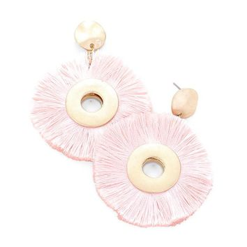 Ellie Earring Light Pink