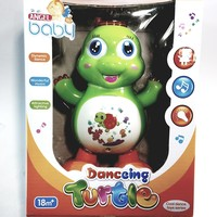 Angel Baby Dynamic Dancing Green Turtle 18 Months Musical Toddler Toy