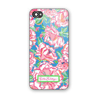 Lilly Pulitzer Floral Pattern Hard Plastic Case For iPhone 6s 6s plus Low Price