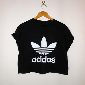 classic back adidas swag sexy style crop top tshirt fresh boss dope celebrity festival clothing fashion urban unqiue