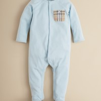 Burberry Infant Boys' Elvis Footie - Sizes 1-12 Months