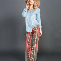 Hippie Love Brushed Flaired Pants | Wet Seal