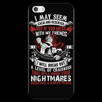 Fairy Tail - I may seem calm and reserved - Iphone Phone Case - TL01088PC
