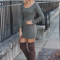 Little Chic Dress - Olive