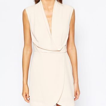 Finders Keepers Dreaming Of You Dress in Nude at asos.com