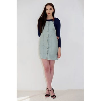 Leah - Pinafore Dress