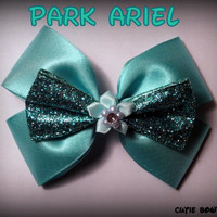 Park Ariel Hair Bow Little Mermaid Disney by bulldogsenior08