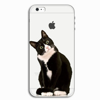 3D Cat Personal Tailor iPhone X 8 7 7 Plus & iPhone 5s se 6 6s Plus Case Cover + Gift Box-466
