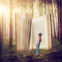 The Presence of Wonder Stretched Canvas by Savannah Kate Bridges Photography