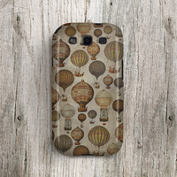 Antique Samsung Galaxy s3 case hot air balloon Samsung Galaxy s4 case Vintage Samsung Galaxy note 2 case Ancient Galaxy note 3 case Mini 291