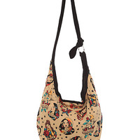 Disney Princess Tattoo Hobo Bag