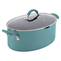 Rachael Ray Cucina 8 Qt. Stock Pot with Lid