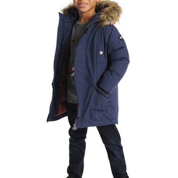 Appaman Boys' Peacoat Morningside Anorak