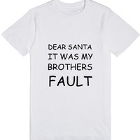 BROTHERS FAULT   T-Shirt   SKREENED