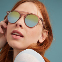 Ray-Ban Gradient Brow-Bar Sunglasses