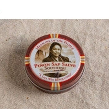Special Offer Piñon Sap Salve - Soothing, Navajo,Medicine Of The People,Handmade Navajo Herbal Remedies,antiseptic that relieves pain and pr