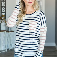 Have Mercy Striped Top