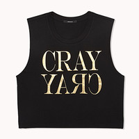 Cray Cropped Muscle Tee