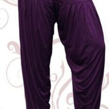 Indian Baggy Pants Pleated Harem Patiala Style for Women India Clothing