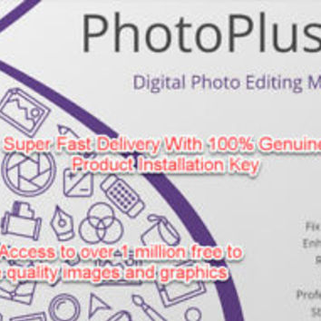 Serif Photoplus x8 ESD Download/Instant delivery + free access to 1m images! | eBay