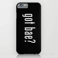 got bae? iPhone & iPod Case by Moop