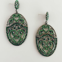 Bulgarian Emerald Earrings