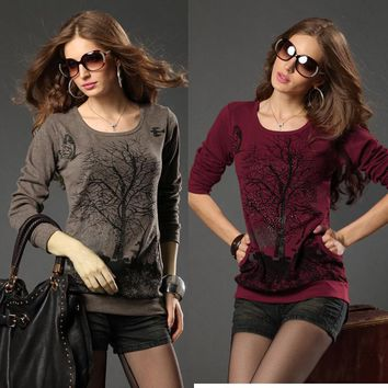 Pullover Knitted Fall Top
