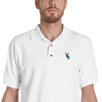 WP Mikey Houser Palmetto Moon Embroidered Polo Shirt