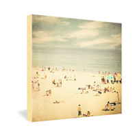 Shannon Clark Vintage Beach Gallery Wrapped Canvas