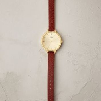 Eulalie Watch by Anthropologie in Brown Motif Size: One Size Watches