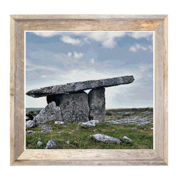 Poulnabrone Portal Tomb Ireland Cross Stitch Pattern