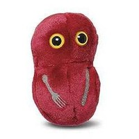 Giant Microbes Flesh Eating (Streptococcus pyogenes) Plush Toy