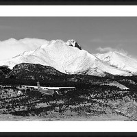Rocky Mountain Flying Framed Print