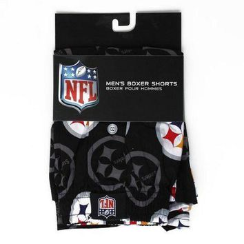 NFL Pittsburgh Steelers Men's Boxer Shorts [Small]