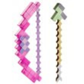 Minecraft Enchanted Bow and Arrow Roleplay Weapon