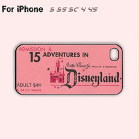 Disneyland-Ticket-Book-1959-Back,iPhone 5 case,iPhone 5C Case,iPhone 5S Case, Phone case,iPhone 4 Case, iPhone 4S Case