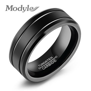 Fashion Black Ring For Men Wedding Ring Fashion Men's Big Ring