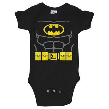 Batman Costume Onesuit Creeper (New Born - 24 Months)