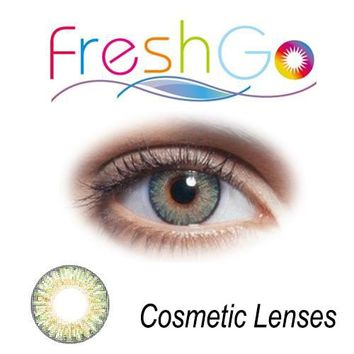 12 Colors blends contact lenses big eye cosmetic contact lens