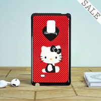 Hello Kitty Red Samsung Galaxy Note 5 Edge Case