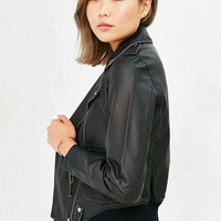 Members Only Faux-Leather Jacket - Urban Outfitters