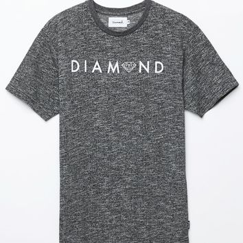 Diamond Supply Co - Garnet Center T-Shirt - Mens Tee - Black