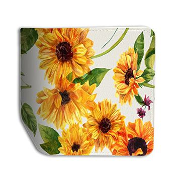 SunFlower Leather Passport Holder Protector Cover_SUPERTRAMPshop